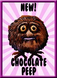 chocolate peep