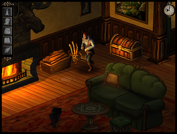 Hero-U Break-in House Screenshot
